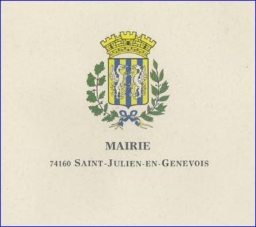 L 39 armorial - Piscine saint julien en genevois ...